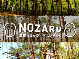 那須ハイランドパーク併設♪『空中アスレチック NOZARU(ノザル)』